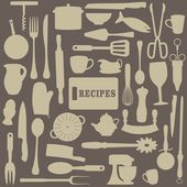 Recipes Illustration — 图库照片