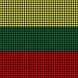 Abstract Lithuania Flag — Foto Stock