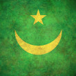 Grunge Mauritania Flag - Stock Photo