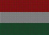 Abstract Hungary Flag — Stock Photo