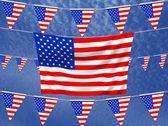 Flagi usa — Zdjęcie stockowe