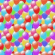 Seamless Balloons Background — Stock Photo