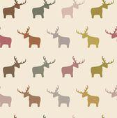 Seamless Deer — Stok fotoğraf
