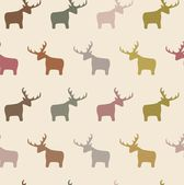 Seamless Deer — Stockfoto
