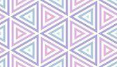 Seamless Pastel Triangles — Stock Photo