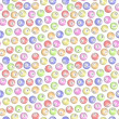 Stock Photo: Seamless Bingo Balls background