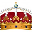 Royal Crown — Stock Photo