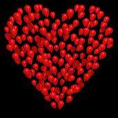 Balloon Love Heart — Stock Photo