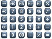 Calculation Buttons — Stock Photo