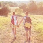 Two tourists. — Stock Photo