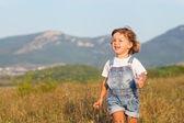 Children in the field — Stock Photo