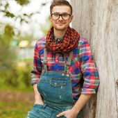 In the style of hipster — Stock Photo