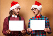 Christmas,Hipster style. — Stock Photo