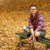 Hombre joven inconformista — Foto de Stock
