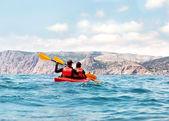 Sea kayak — Foto Stock