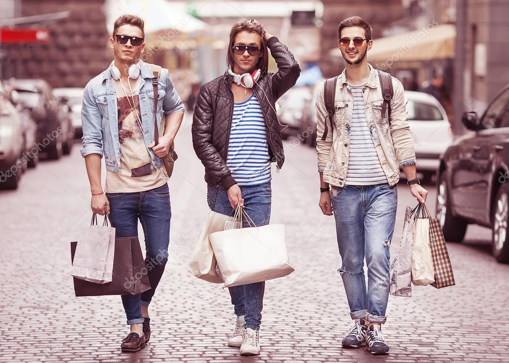 Young men's clothing stores