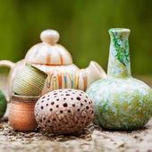 Barevné keramiky — Stock fotografie