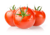 Fresh Tomatoes with Drops — Stock Photo