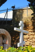 Cemetery in Russian Orthodox St Peter Church .Jaffa.Israel — Stock Photo