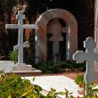 Cemetery in Russian Orthodox Church .Jaffa.Israel — Stock Photo