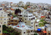 Issawiya from Mt. Scopus in jerusalem — Stock Photo