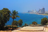Views of Tel Aviv from Jaffa — Stock Photo