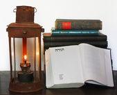 Lampa naftowa i Starego Testamentu — Zdjęcie stockowe