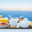 Breakfast for Two with a View — Stock Photo #12144185