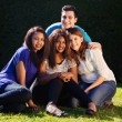 International Group of Friends — Stock Photo #45995423