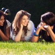 Young Girls Relaxing Outdoors — Stock Photo #51538127