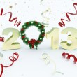 3D new year 2013 rendering — Stock Photo #17877257