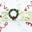 3D new year 2013 rendering — Stock Photo #17877269