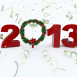 3D new year 2013 rendering — Stock Photo #17877271