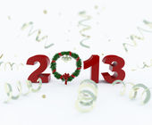 3D new year 2013 rendering — Stock fotografie