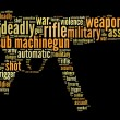 图库照片: Sub machine-gun graphics