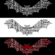 图库照片: Vampire bat graphics