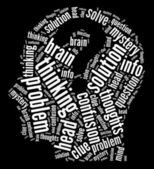 Entelektüel zihin kavramı — Stok fotoğraf
