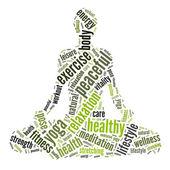 Koncept zdraví a pohody — Stock fotografie