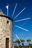 Old windmill from the greek island of Kos — Stock Photo