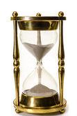 Reloj de arena aislado — Foto de Stock