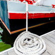 Stock Photo: Boat Tie