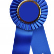 Blue Ribbon Award (with clipping path) — Stock Photo #3158054