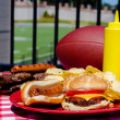 Tailgating Meal — Stock Photo