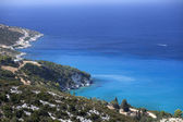 Azure coast of Greece, Zakynthos Island — Stock Photo