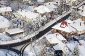Piatra neamt landscape — Stock Photo
