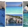 Amazing Zakynthos Island Collage, Greece — Stock Photo #22145553
