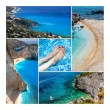 Amazing Zakynthos Island Collage, Greece — Stock Photo