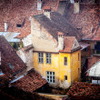 Old house from Sighisoara medieval city, Europe - Romania — Stock Photo