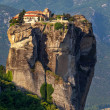 Stock Photo: Varlaam monastery at Meteorin Trikalregion in summer, Greece
