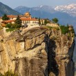 Stock Photo: Monastery of Holy Trinity (1475), Meteora, Greece